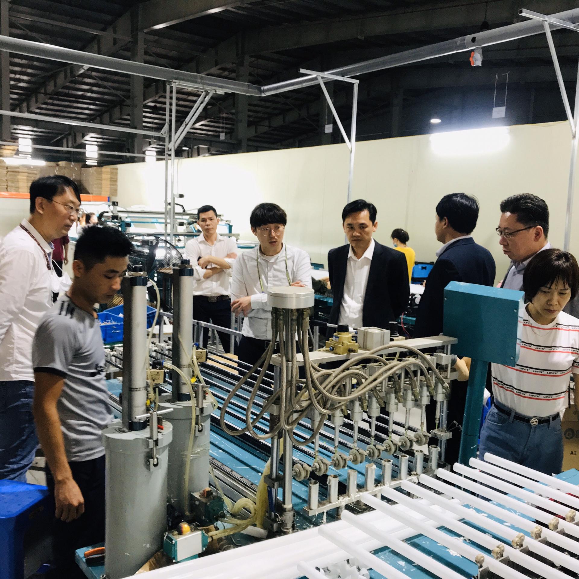 Dây chuyền sản xuất của SMK Việt Nam